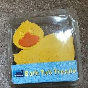 Other - Rubber ducky bath mat treads sticky's